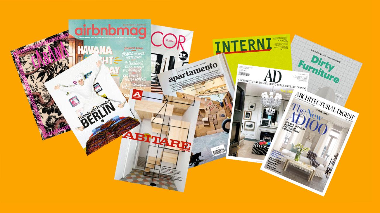 Le 10 riviste di Interior Design da cui trarre ispirazione - Redesign